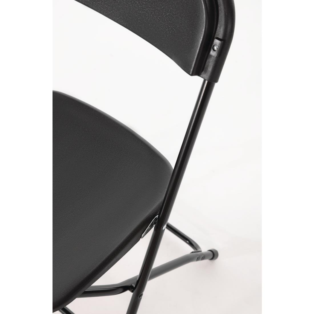 rent black folding chair hire Surrey