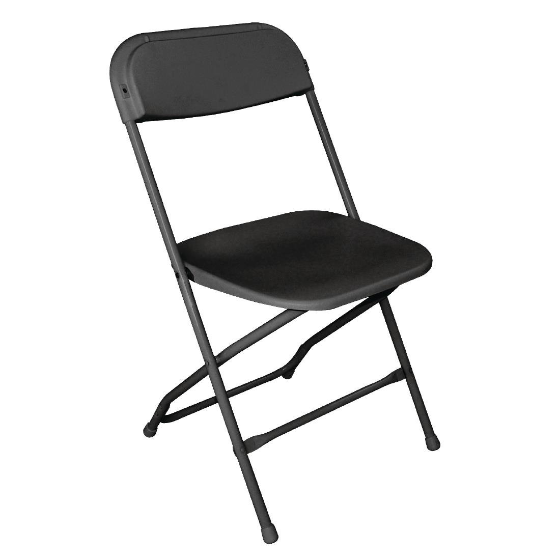Black folding chair hire London