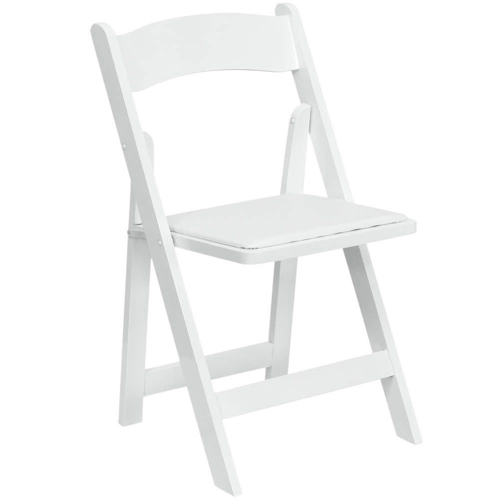 white wooden folding wedding chair hire London